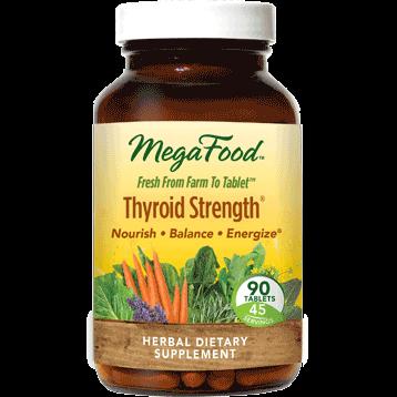 MegaFood Thyroid Strength 90 tabs M20029