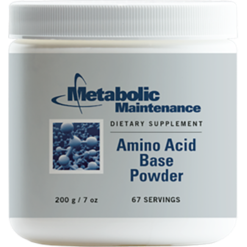 Metabolic Maintenance Amino Acid Base Powder Unflvred 200 gms CUSTO