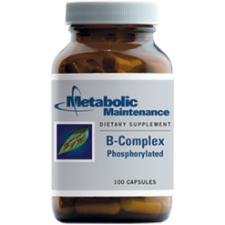 Metabolic Maintenance B Complex Phosphorylated 100 vcaps BCO11