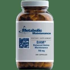 Metabolic Maintenance BAM 750 mg 180 capsules BAM1