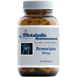 Metabolic Maintenance Bromelain 750 mg 60 caps BRO11