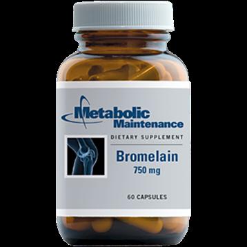 Metabolic Maintenance Bromelain 750 mg 60 caps BRO11