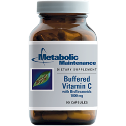 Metabolic Maintenance Buffered C 1000 mg 90 capsules BUF11
