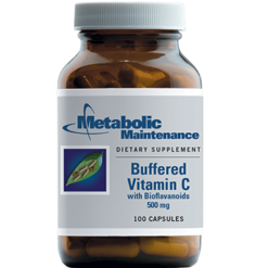 Metabolic Maintenance Buffered Vitamin C 500 mg 100 caps BUFC9
