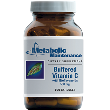 Metabolic Maintenance Buffered Vitamin C 500 mg 100 caps BUFC9