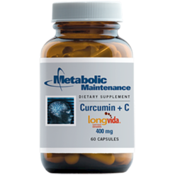 Metabolic Maintenance Curcumin C 60 caps ME709