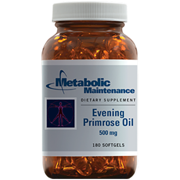 Metabolic Maintenance Evening Primrose Oil 500 mg 180 gels EP181