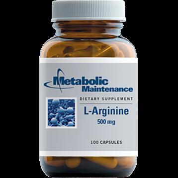 Metabolic Maintenance L Arginine 500 mg 100 caps ARGI7