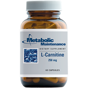 Metabolic Maintenance L Carnitine 250 mg 60 caps CAR30