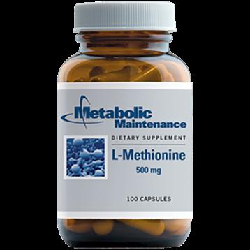Metabolic Maintenance L Methionine 500 mg 100 caps METH6