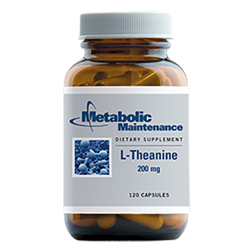 Metabolic Maintenance L Theanine 200 mg 120 caps LTHE3