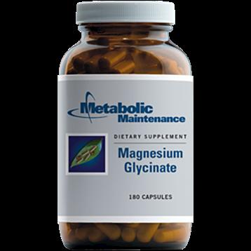 Metabolic Maintenance Magnesium Glycinate 180 caps ME439