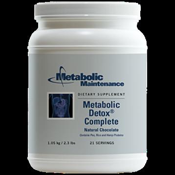 Metabolic Maintenance Metabolic Detox Complete Chocolate 2.3 lbs ME680