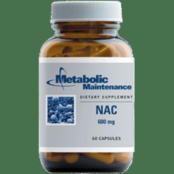 Metabolic Maintenance NAC 600 mg 60 caps NAC1