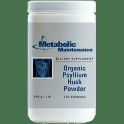 Metabolic Maintenance Organic Psyllium Husk Powder 454 gms PSYL5