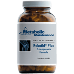 Metabolic Maintenance Rebuild Plus Osteoporosis Form.180 caps REBU4