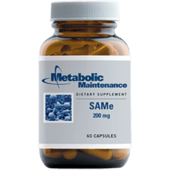 Metabolic Maintenance SAMe 200 mg 60 capsules SAME