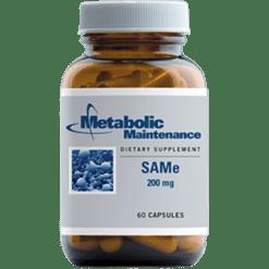 Metabolic Maintenance SAMe 200 mg 60 capsules SAME