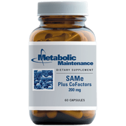 Metabolic Maintenance SAMe amp CoFactors 200 mg 60 capsules SAME4