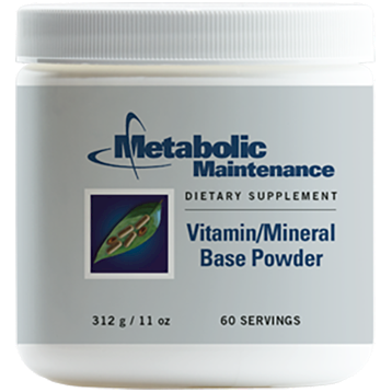 Metabolic Maintenance Vitamin Mineral Base Powder 312 g MUL52