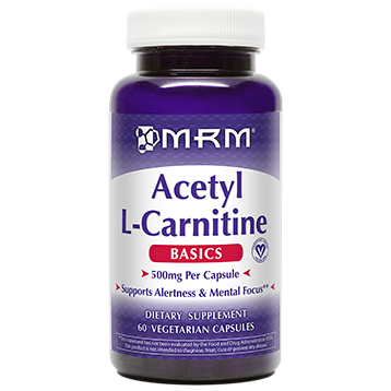 Metabolic Response Modifier Acetyl L Carnitine 60 vegcaps ALC60