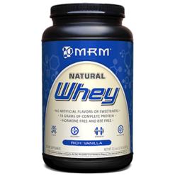 Metabolic Response Modifier All Natural Whey Vanilla 2.02 lb WHEY4