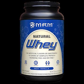 Metabolic Response Modifier All Natural Whey Vanilla 2.02 lb WHEY4
