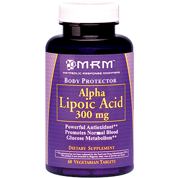 Metabolic Response Modifier Alpha Lipoic Acid 300 mg 60 vtabs ALP35