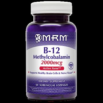 Metabolic Response Modifier B 12 Methylcobalamin 2000 mcg 60 loz B12ME