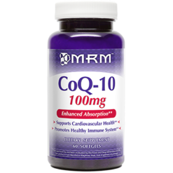 Metabolic Response Modifier COQ 10 100mg 60 softgels M55008