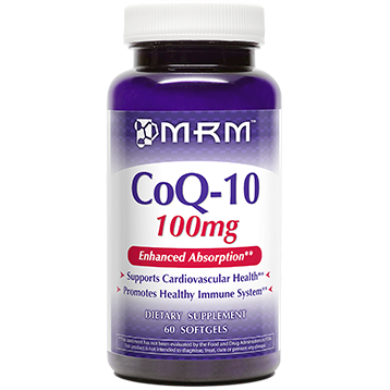 Metabolic Response Modifier COQ 10 100mg 60 softgels M55008