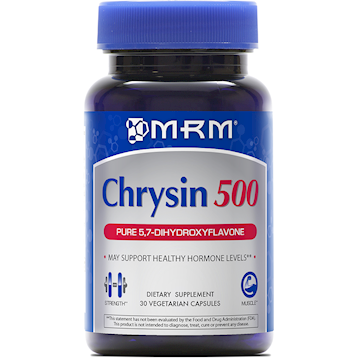 Metabolic Response Modifier Chrysin 500 mg 30 caps CHRYS