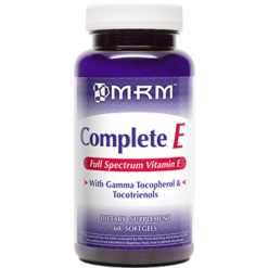 Metabolic Response Modifier Complete E 400 IU 60 softgels COMPE