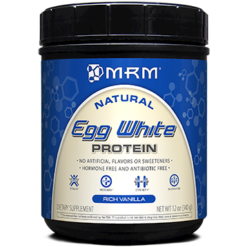 Metabolic Response Modifier Egg White Protein Vanilla 12 oz M20719