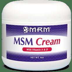 Metabolic Response Modifier MSM Cream 4 oz MSM19