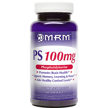 Metabolic Response Modifier PS Phosphatidylserine 100 mg 60 gels PSPHO