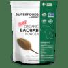 Metabolic Response Modifier Raw Organic Baobab Fruit Powder 8.5 oz M92846