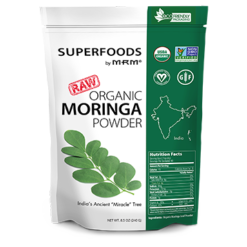 Metabolic Response Modifier Raw Organic Moringa Leaf Powder 8.5 oz M92839