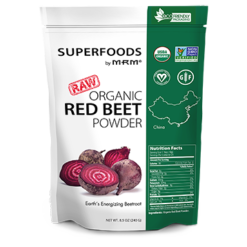 Metabolic Response Modifier Raw Organic Red Beet Powder 8.5 oz M92822