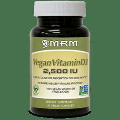 Metabolic Response Modifier Vegan Vitamin D3 2500 IU 60 vegetarian capsules M23105