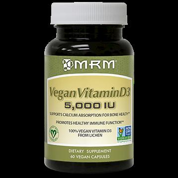 Metabolic Response Modifier Vegan Vitamin D3 5000IU 60 vcaps M23106