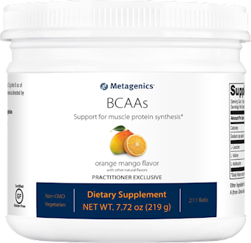 Metagenics BCAA Orange Mango powder 30 servings M50079
