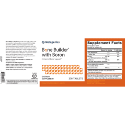 Metagenics Bone Builder with Boron Label