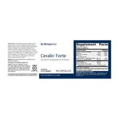 Metagenics Ceralin Forte Label