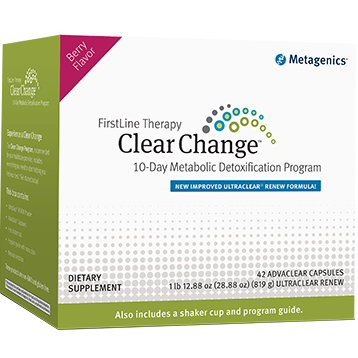 Metagenics Clear Change 10 Day Detox Berry 42 capsules M44351
