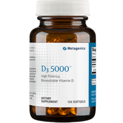 Metagenics D3 5000 IU 120 softgels D5000