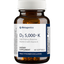 Metagenics D3 5000 K 60 softgels M50062