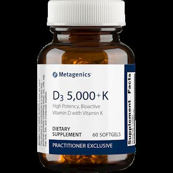 Metagenics D3 5000 K 60 softgels M50062
