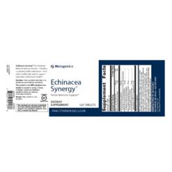 Metagenics Echinacea Synergy Label