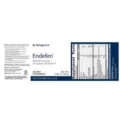 Metagenics Endefen Label